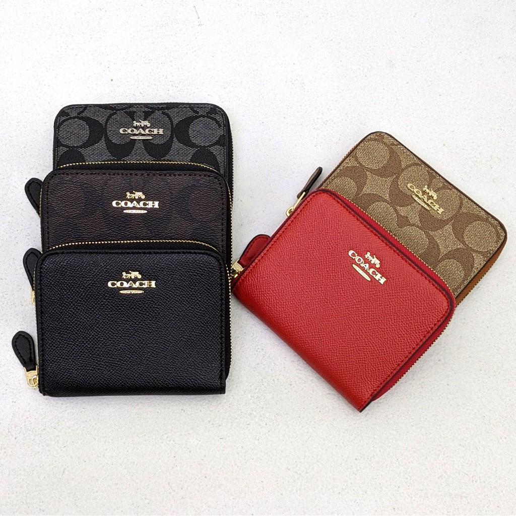 coach small wallet